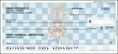Patterson Yorkie Personal Checks