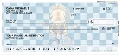 Patterson Pug Personal Checks